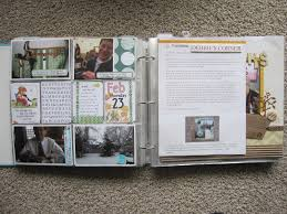 scrapbook inserts project and scrapbook layouts debbie s corner