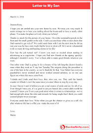 letter to my son who is away from home bankofinfo com