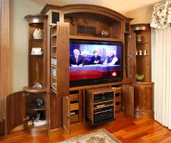 Home Entertainment Design Nyc Tv And Media Wall Unit Traditional Living Room New York By