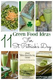 11 green food ideas for st patrick u0027s day