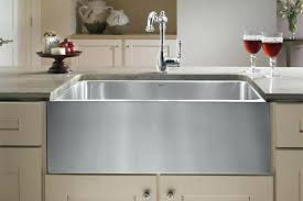 36 stainless steel farmhouse sink stainless steel farm sinks optimum offset double bowl stainless