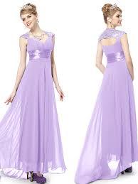 lavender bridesmaids dresses knee length criss cross one shoulder lilac bridesmaid