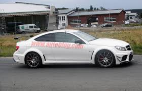 spy shots mercedes benz c63 amg coupe black series photo gallery