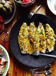 cuisiner des filets de maquereaux recette de filets de maquereaux grillés au curcuma et coriandre