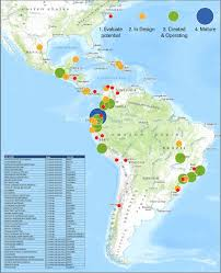 Map Of Latin America by Natural Capital Project Latin America