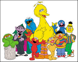 sesame street clipart background pencil and in color sesame
