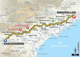 Carcassonne France Map by 2016 Race Info Supersport Cycling