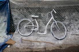 Matte Black Spray Paint For Bikes - ghost bikes a decade of quietly remembering those we lost