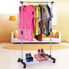 cloth organizer display clothes rack adjustable coat garment