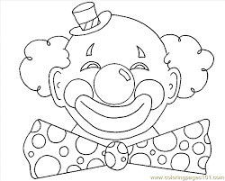 coloring pages of scary clowns colouring picture joker coloring pages kids free printable