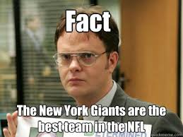 Ny Giants Memes - fact the new york giants are the best team in the nfl