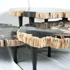 bernhardt petrified wood side table side tables petrified wood side table petrified wood side