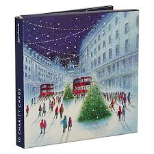 buy john lewis london fun charity christmas cards pack of 10
