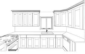 Kitchen Design Drawings Awesome Ideas Kitchen Cabinet Design Drawing Drawing What You On