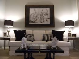 living room fashionable modern black and white living room decor