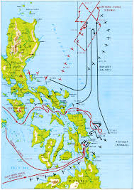 Map Of The Gulf Stream Chapter 8 The Leyte Operation