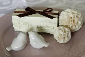 wedding salt and pepper shakers white birds berkat kahwin singapore
