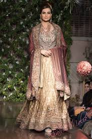 pakistani bridal dresses 2014 for walima in red and white for