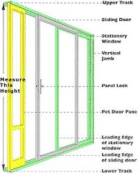 Patio Door Draft Petsafe Freedom Patio Pet Door Large Flap Size 10 1 4 X 16 3 8