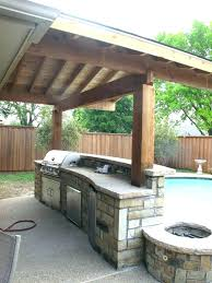 ideas for outdoor kitchen small outdoor kitchen saltandhoney co