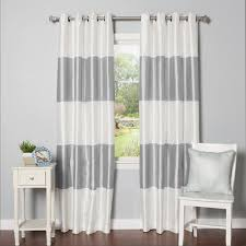 Blackout Curtains Grommet Best Home Fashion Inc Grommet Striped Blackout Thermal Curtain