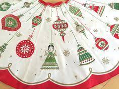 embroidered velvet tree skirt