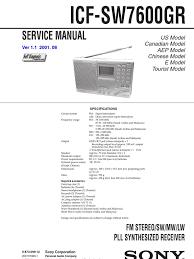 icf sw7600gr service manual v1 1 daylight saving time amplifier