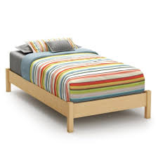 Simple King Size Bed Frame by Furniture Bedroom Simple Maple Wood Size Bed Is Also A Kind Of