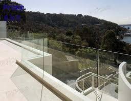 Glass Banisters Cost Freestanding Glass Balustrade Pr B34 Buy Freestanding Glass