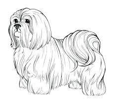 dog coloring pages free breeds cute dogs puppies christmas