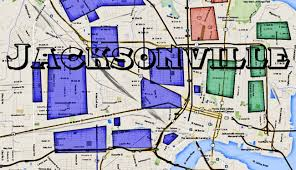 Downtown Phoenix Map by Jacksonville Gangs And Hoods Of Duval County