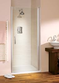Pivot Shower Door 900mm Italia Affini Semi Frameless Pivot Shower Door 900 Silver