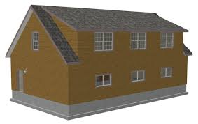 cape cod garage plans g445 plans 48 x28 x 10 detached garage garage plans g445