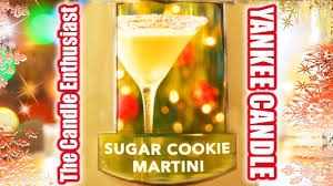 martini christmas yankee candle new sugar cookie martini online exclusive