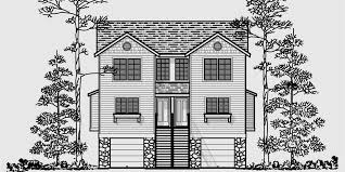 vacation house plans duplex house plans vacation house plans d 413