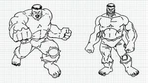 draw hulk video hulk incredible hulk