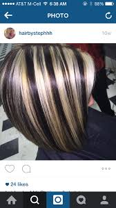 chunking highlights dark hair pictures dark brown with chunky blonde highlights hair pinterest