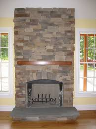 decoration fireplace designs with brick stone accent wall design