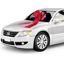 big bow for car present zoe designs 23 big car bow with 2 gold accessory