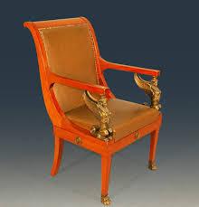 modele de bureau fauteuil de bureau aux sphinges bronze et acajou modèle de g