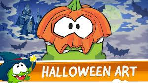 halloween pic art om nom halloween art compilation youtube