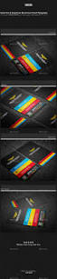 Biz Card Template Colorful Business Card Template By Kittaco Graphicriver