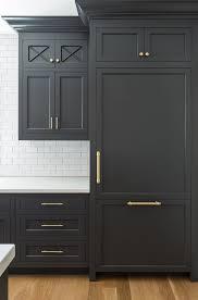 new kitchen trend dark cabinets subway tile u0026 shiplap home