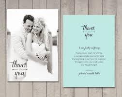 free printed wedding thank you card beautiful designing template