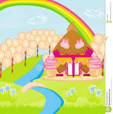 fairytale house of candy royalty free stock photo image 32748305