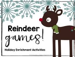 free printable reindeer activities holiday freebie math logic creativity problem solving and