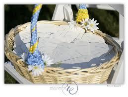 basket for wedding programs wedding program fan christine meahan designs