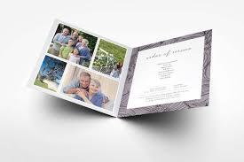 Paper For Funeral Programs Dahlia Funeral Program Design U2013 Memory Press