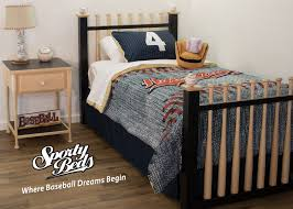 Twin Bedroom Set by Baseball Bed Grand Slam Twin 3 Pc Headboard Foot Board