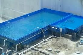 l shaped pool table l shaped pool with spillover spa modern swimming pool l shaped